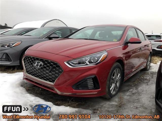 2018 Hyundai Sonata Sport (Stk: SN82636) in Edmonton - Image 1 of 6