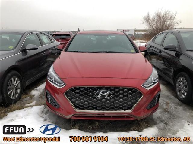 2018 Hyundai Sonata Sport (Stk: SN82636) in Edmonton - Image 2 of 6