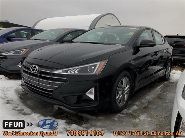 2019 Hyundai Elantra  (Stk: EL94924) in Edmonton - Image 1 of 6