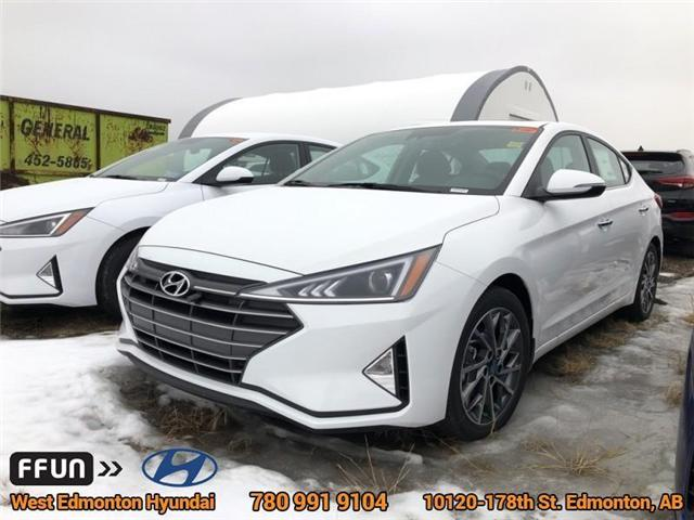 2019 Hyundai Elantra Luxury (Stk: EL92833) in Edmonton - Image 1 of 6