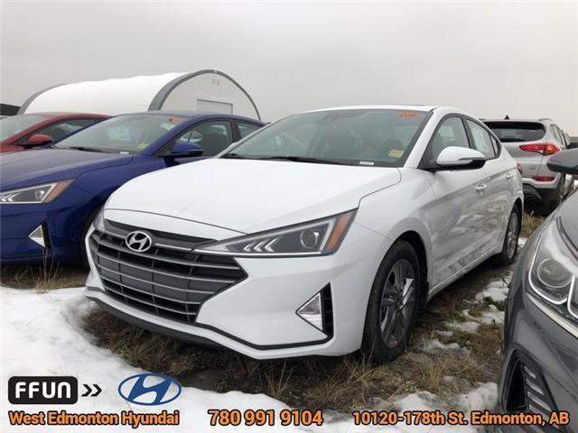 2019 Hyundai Elantra  (Stk: EL94111) in Edmonton - Image 1 of 6