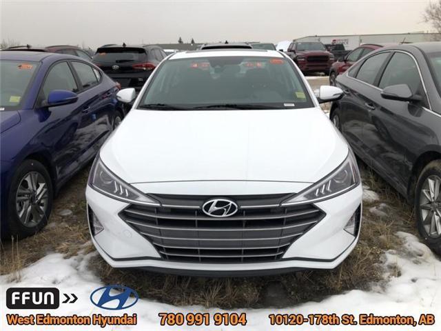 2019 Hyundai Elantra  (Stk: EL94111) in Edmonton - Image 2 of 6
