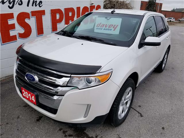 2014 Ford Edge SEL (Stk: 18-739T) in Oshawa - Image 1 of 15