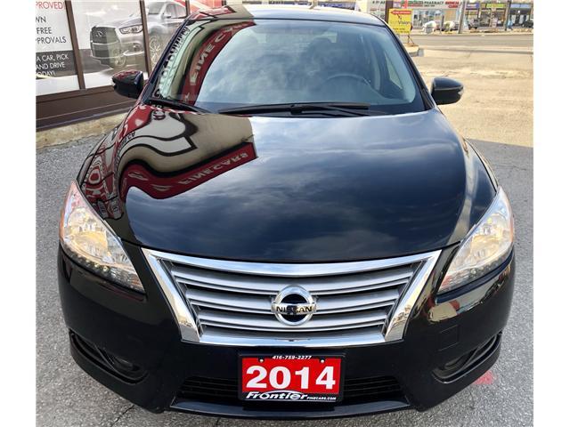 2014 Nissan Sentra 1.8 SL (Stk: 626453) in Toronto - Image 3 of 14