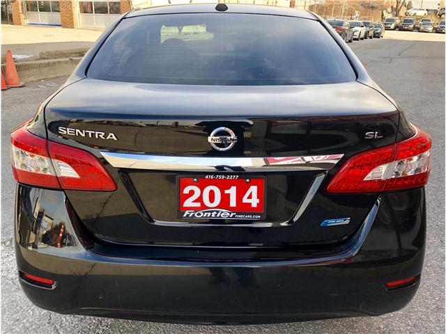 2014 Nissan Sentra 1.8 SL (Stk: 626453) in Toronto - Image 6 of 14