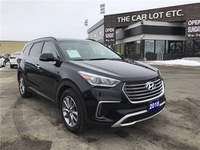 2018 Hyundai Santa Fe XL Ultimate (Stk: 19019) in Sudbury - Image 1 of 21