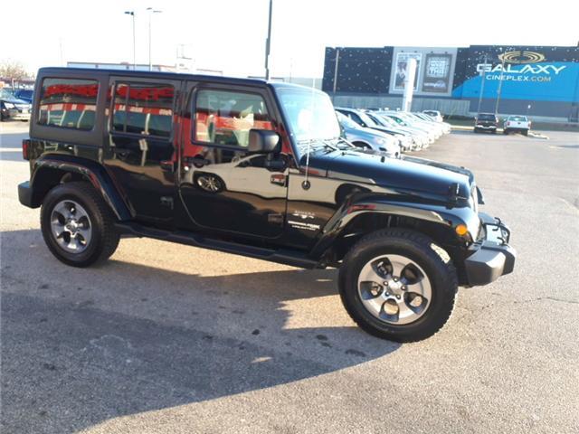 2018 Jeep Wrangler JK Unlimited Sahara (Stk: JL873568) in Sarnia - Image 2 of 19