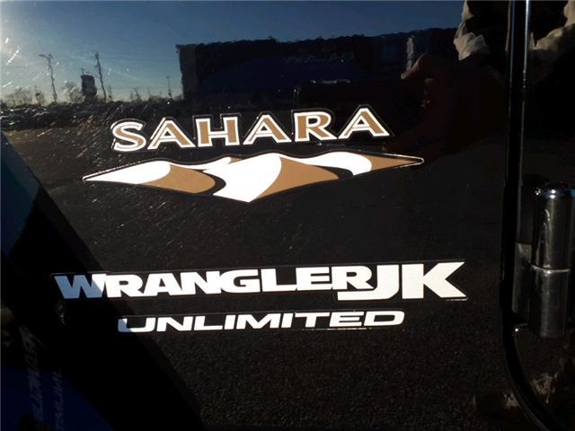 2018 Jeep Wrangler JK Unlimited Sahara (Stk: JL873568) in Sarnia - Image 3 of 19