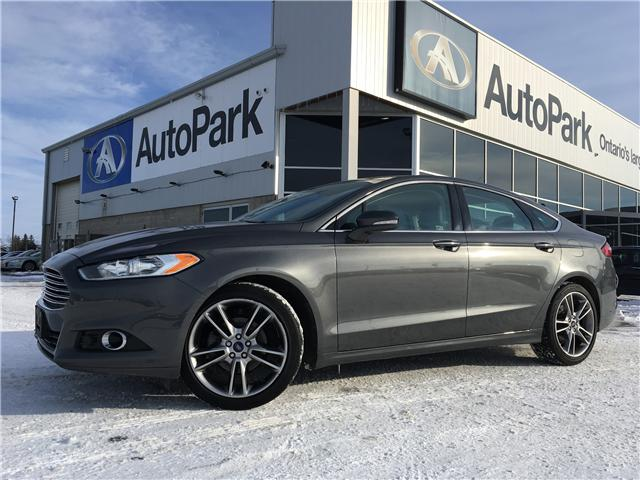 2016 Ford Fusion Titanium (Stk: 16-81841JB) in Barrie - Image 1 of 28