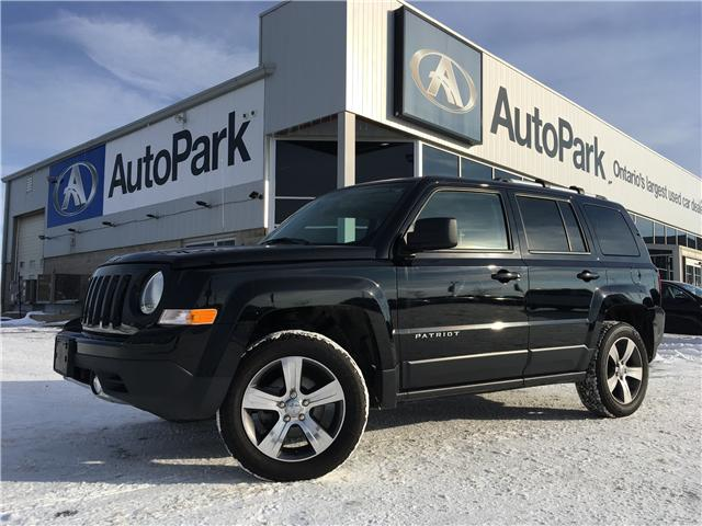 2016 Jeep Patriot Sport/North (Stk: 16-39693JB) in Barrie - Image 1 of 27
