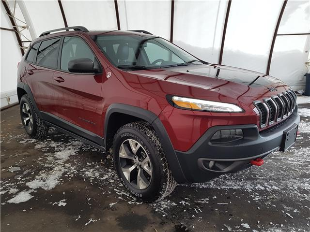 2016 Jeep Cherokee Trailhawk (Stk: 1911901) in Thunder Bay - Image 1 of 18