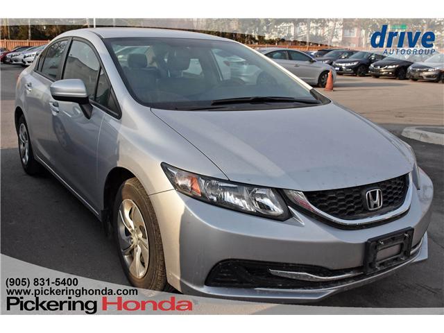 2014 Honda Civic LX (Stk: P4622) in Pickering - Image 1 of 3