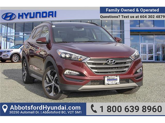 2017 Hyundai Tucson Limited (Stk: AH8795) in Abbotsford - Image 1 of 27