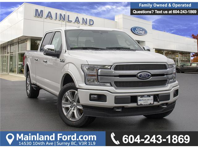 2018 Ford F-150 Platinum (Stk: 8F15694) in Surrey - Image 1 of 30