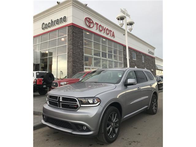 2018 Dodge Durango GT (Stk: 2780) in Cochrane - Image 1 of 23