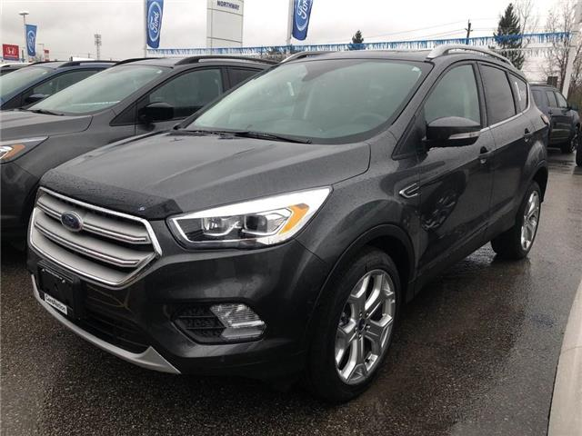 2018 Ford Escape Titanium (Stk: EC86129) in Brantford - Image 1 of 5