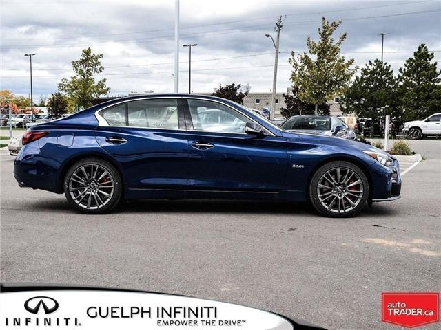 2019 Infiniti Q50 3.0t Red Sport 400 (Stk: I6802) in Guelph - Image 2 of 25