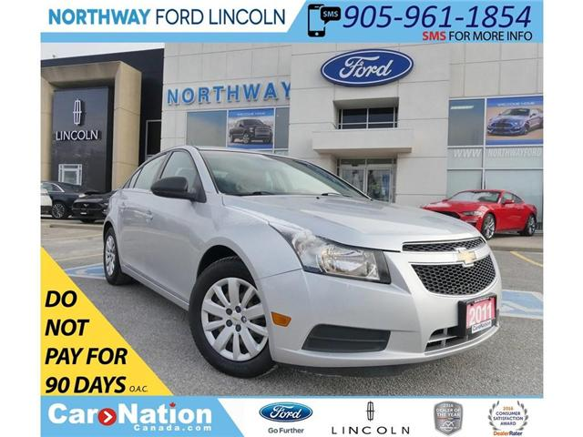 2011 Chevrolet Cruze LS | SUPER CLEAN | NO ACCIDENTS! (Stk: EC82958A) in Brantford - Image 1 of 26