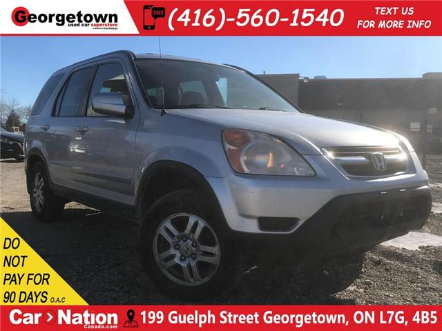 2002 Honda CR-V EX LEATHER| ROOF| AWD| GREAT SHAPE (Stk: SD19043C) in Georgetown - Image 1 of 24