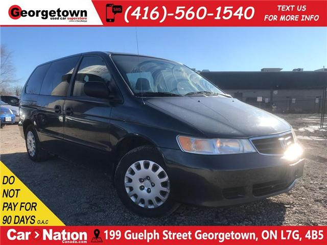 2004 Honda Odyssey LX | LOADED| JUST TRADED| GREAT SHAPE (Stk: DR390A) in Georgetown - Image 1 of 19