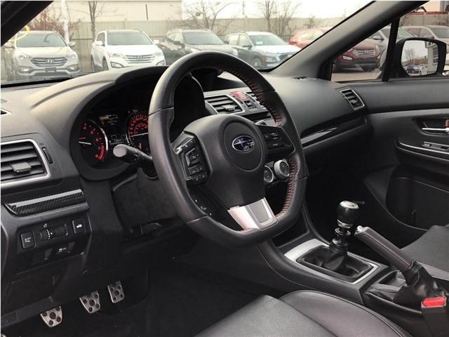2017 Subaru WRX Sport-tech (Stk: JF1VA1) in Brampton - Image 12 of 26