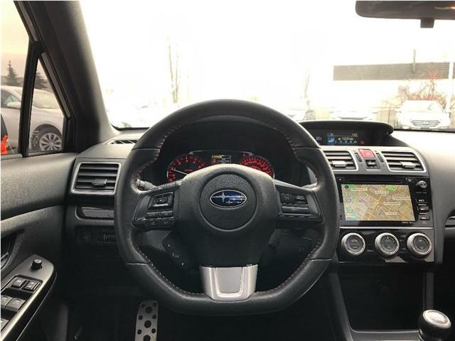 2017 Subaru WRX Sport-tech (Stk: JF1VA1) in Brampton - Image 13 of 26