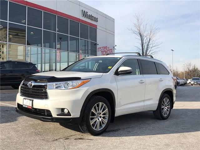 2016 Toyota Highlander XLE (Stk: U2268) in Vaughan - Image 1 of 21