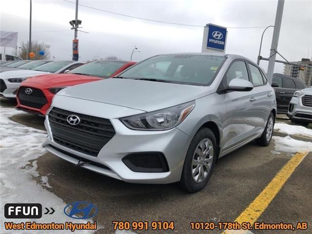 2019 Hyundai Accent  (Stk: AN96207) in Edmonton - Image 1 of 6