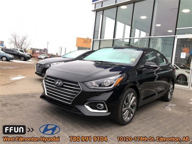 2019 Hyundai Accent Ultimate (Stk: AC95872) in Edmonton - Image 1 of 14