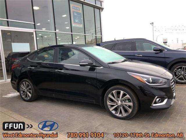 2019 Hyundai Accent Ultimate (Stk: AC95872) in Edmonton - Image 3 of 6
