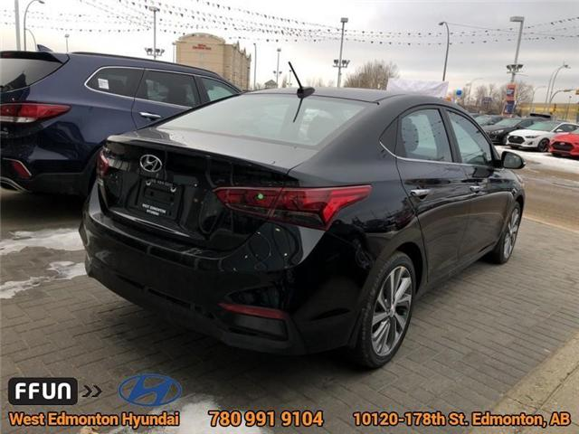 2019 Hyundai Accent Ultimate (Stk: AC95872) in Edmonton - Image 4 of 6