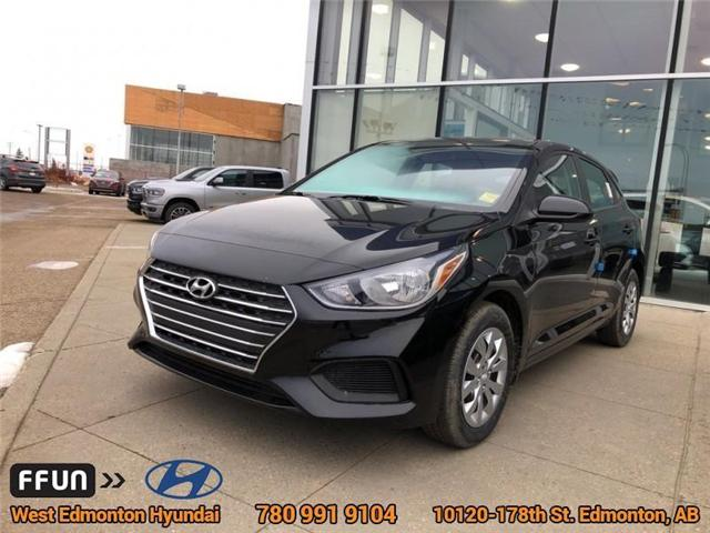 2019 Hyundai Accent  (Stk: AN96092) in Edmonton - Image 1 of 6