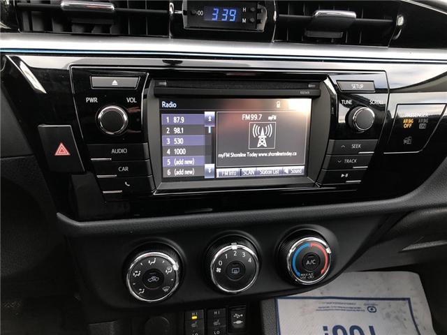 2014 Toyota Corolla S (Stk: U29118) in Goderich - Image 15 of 16