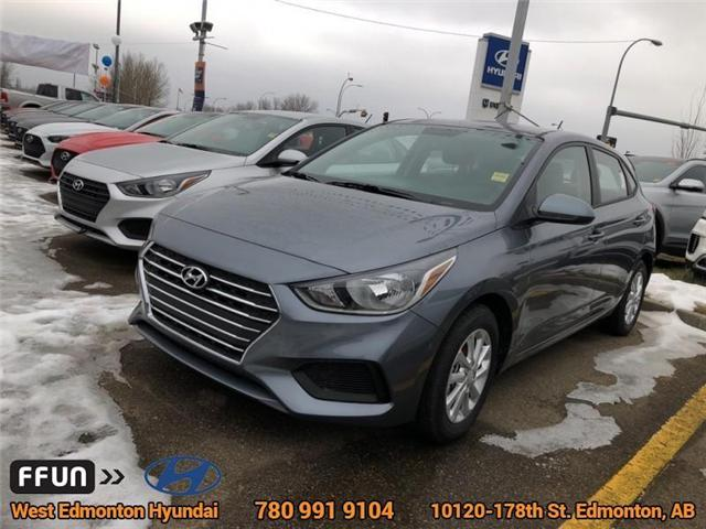 2019 Hyundai Accent Preferred (Stk: AN96495) in Edmonton - Image 1 of 6