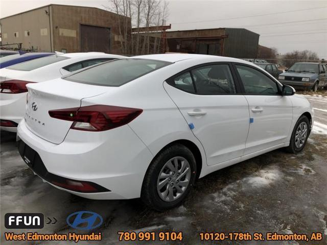 2019 Hyundai Elantra ESSENTIAL (Stk: EL95124) in Edmonton - Image 4 of 6