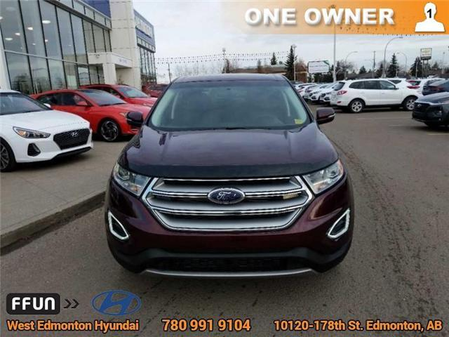 2017 Ford Edge SEL (Stk: P0851) in Edmonton - Image 3 of 21