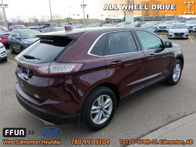 2017 Ford Edge SEL (Stk: P0851) in Edmonton - Image 6 of 21