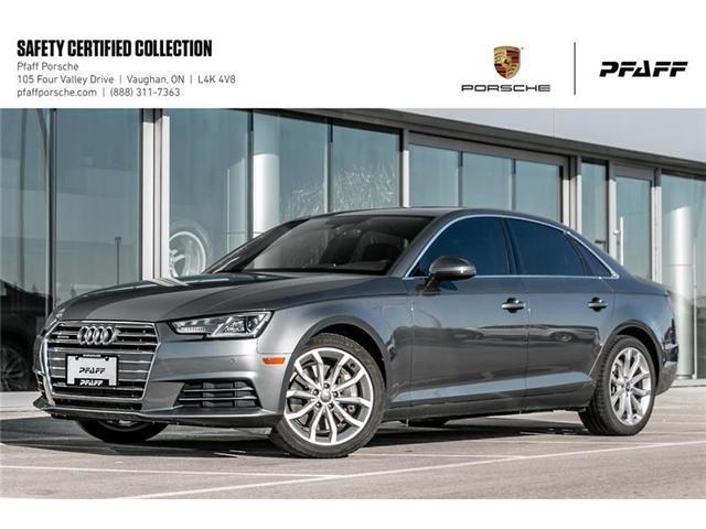 2017 Audi A4 2.0T Progressiv quattro 7sp S tronic (Stk: U7656) in Vaughan - Image 1 of 21