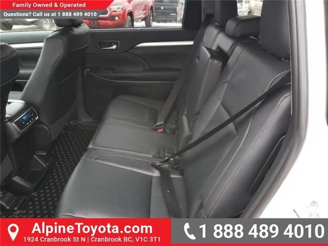 2019 Toyota Highlander XLE (Stk: S575064) in Cranbrook - Image 10 of 17