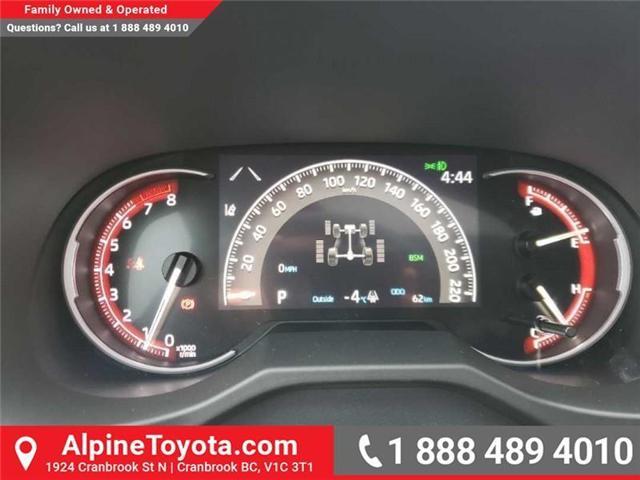 2019 Toyota RAV4 Trail (Stk: W007718) in Cranbrook - Image 28 of 30