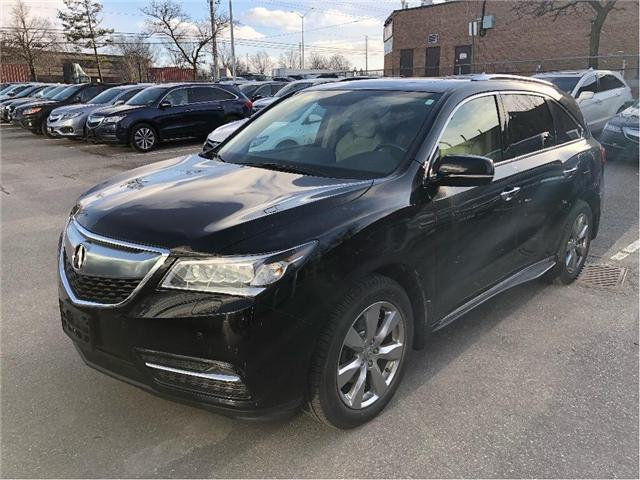 2014 Acura MDX Elite Package (Stk: 504906P) in Brampton - Image 1 of 13
