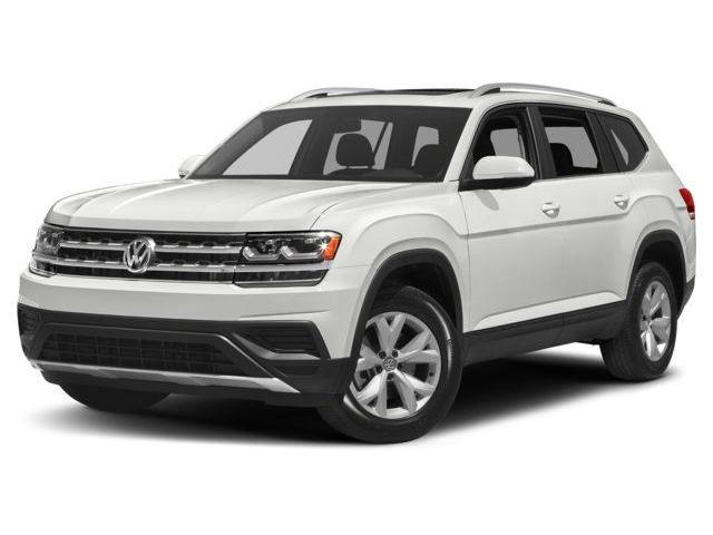 2019 Volkswagen Atlas 3.6 FSI Highline (Stk: VWTQ5393) in Richmond - Image 1 of 8