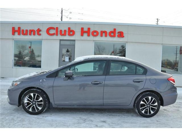 2015 Honda Civic EX (Stk: 6991A) in Gloucester - Image 1 of 26
