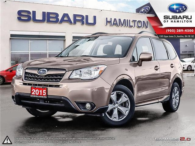 2015 Subaru Forester 2.5i Touring Package (Stk: S7354A) in Hamilton - Image 1 of 27