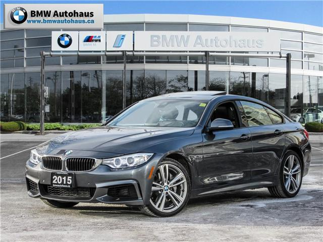 2015 BMW 435i xDrive Gran Coupe (Stk: P8733) in Thornhill - Image 1 of 26