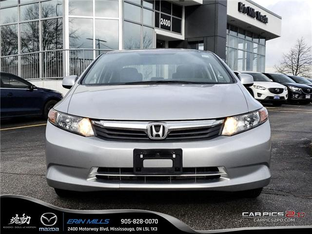 2012 Honda Civic LX (Stk: 18-0293TA) in Mississauga - Image 2 of 17