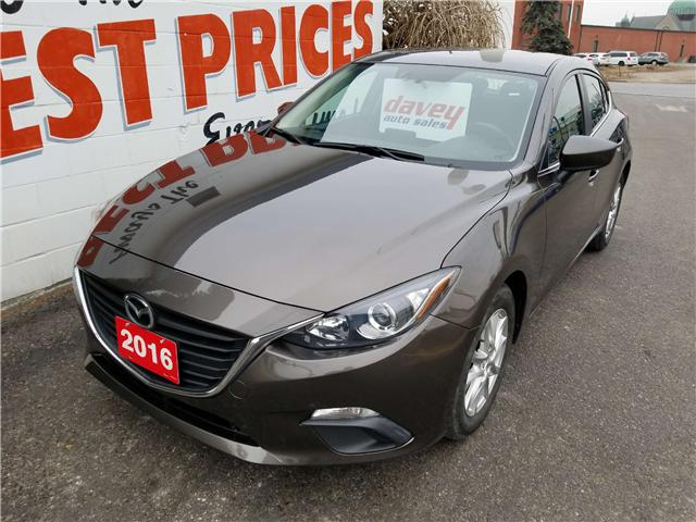 2016 Mazda Mazda3 GS (Stk: 19-026) in Oshawa - Image 1 of 16