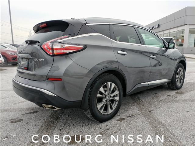 2018 Nissan Murano SL (Stk: JN104244) in Cobourg - Image 7 of 38