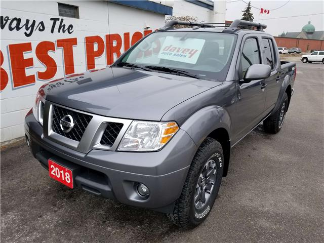 2018 Nissan Frontier PRO-4X (Stk: 19-010) in Oshawa - Image 1 of 17