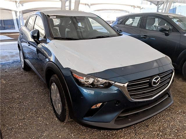 2019 Mazda CX-3 GS (Stk: H1566) in Calgary - Image 1 of 1